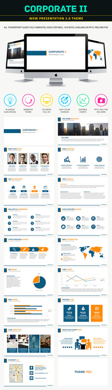 Product picture Corporate II Powerpoint Template